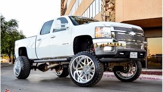 2010 Chevy 2500 HD Duramax getting a FTS Lift and 26x16 Forged Rims