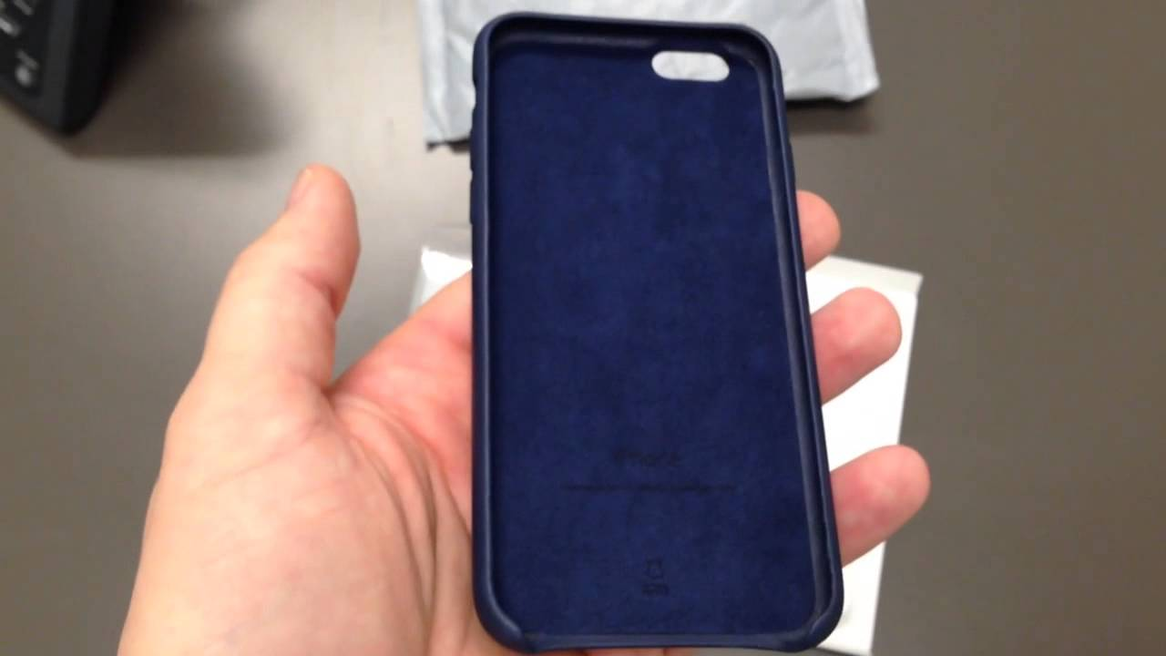 Apple iphone 6 leather case unboxing youtube