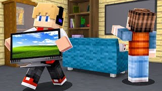 ESCONDI AS COISAS DO MCFLY NO MINECRAFT !