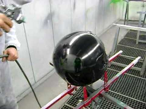 chrome paint - krom - peinture chrome.AVI