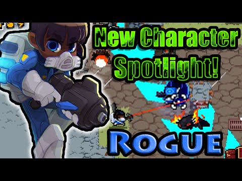 Nuclear Throne - New Character Spotlight - Rogue!