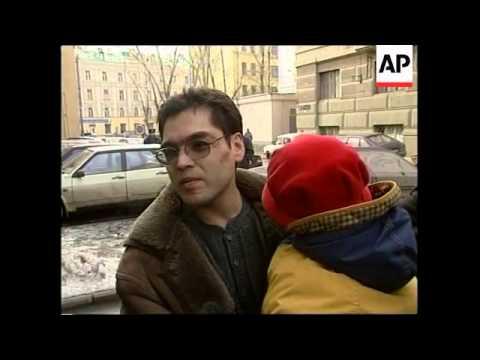RUSSIA: RADIO LIBERTY JOURNALIST BABITSKY LATEST