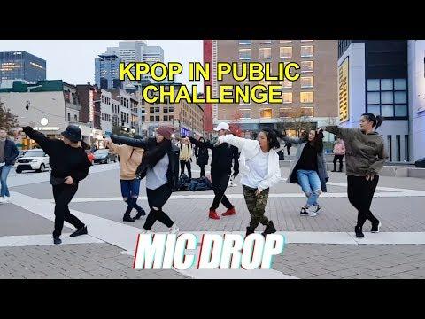[EAST2WEST] Dancing Kpop in Public Challenge: BTS (방탄소년단) - MIC Drop