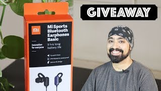 Mi Sports Bluetooth Earphones Basic - REVIEW & GIVEAWAY ⚡