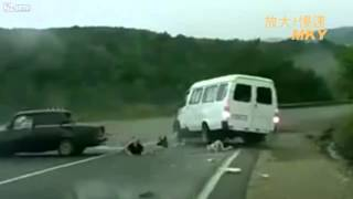 Lucky man from live Accident