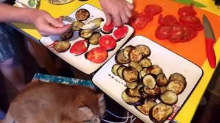 Баклажаны с помидорами Анекдот и Портрет