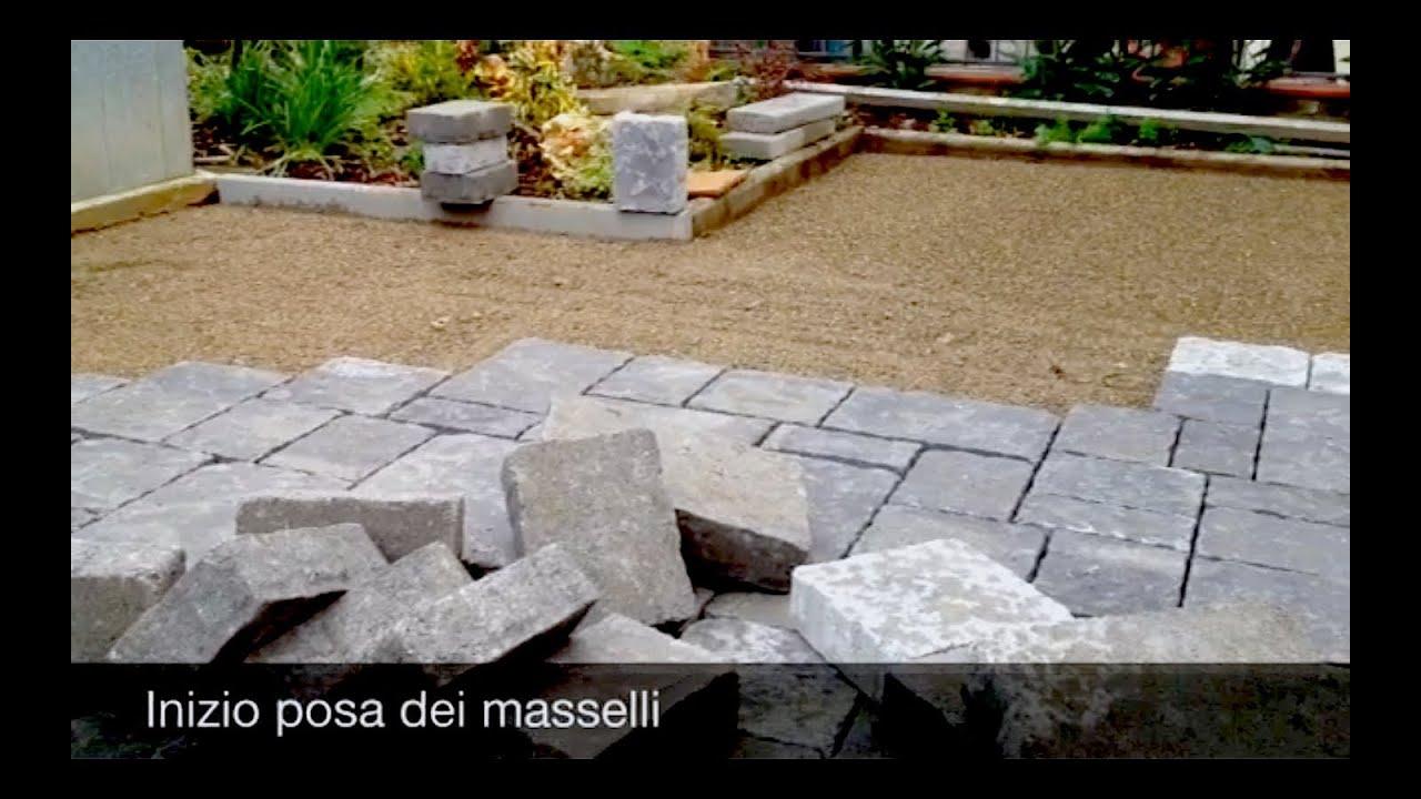 Pavimentazione da esterno in autobloccanti youtube - Pavimentazione da esterno ...