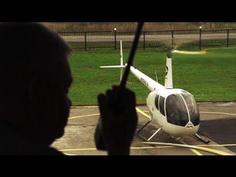 Кругосветное путешествие на вертолетах