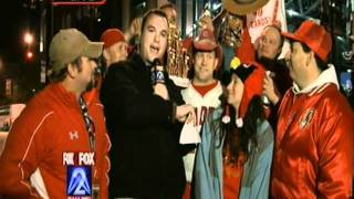 Cardinal Cowboy After Game 6 World Series 2011 KTVI