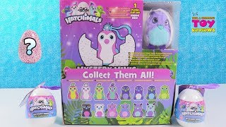 Hatchimals Mystery Minis Surprise Egg Plush Backpack Hangers Toy Review | PSToyReviews