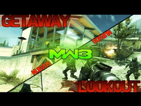 NUEVOS Mapas - Modern Warfare 3 - Walkthrough Getaway y LookOut - FACE OFF