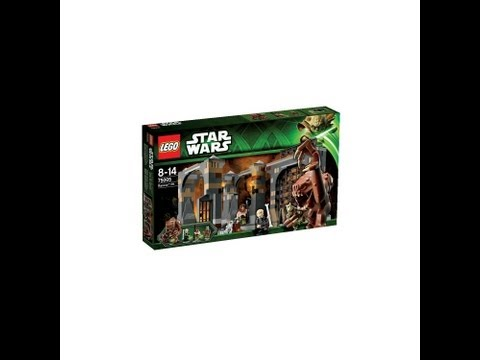 LEGO Star Wars Rancor Pit 75005 HD Set Review | www.flyguy.net
