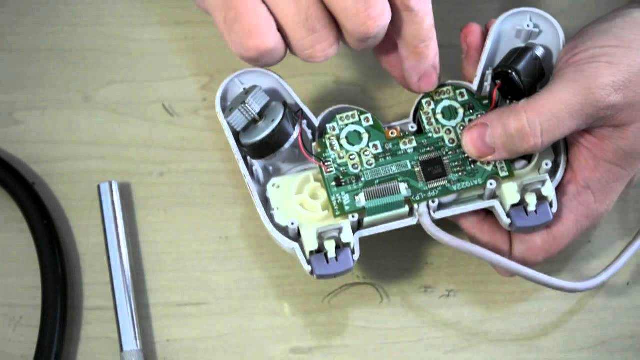 Fixing sticky buttons on a PSone or Playstation 2 controller - YouTube