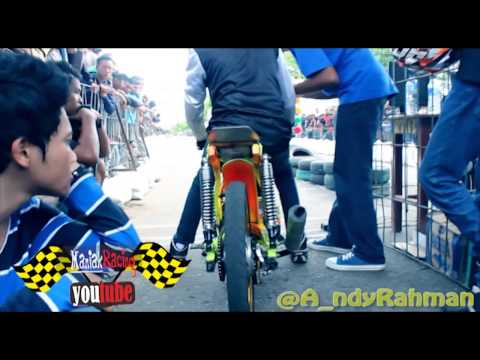 Drag bike Motor Drag RXZ Ruly pm Garmos vs topik ompong op27