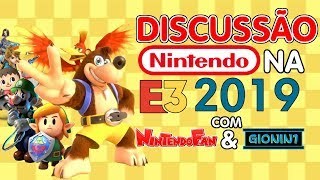 Discussão: Nintendo na E3 2019 (Zelda Breath of the Wild 2, Banjo-Kazooie no Smash Bros. e Mais)