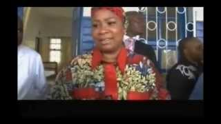 Kinshasa :Prises en charges des malades par Marie Olive Lembe Kabila