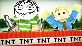 Dansk Minecraft - Triers Verden #14: EMIL PRANKER MIKKEL!!