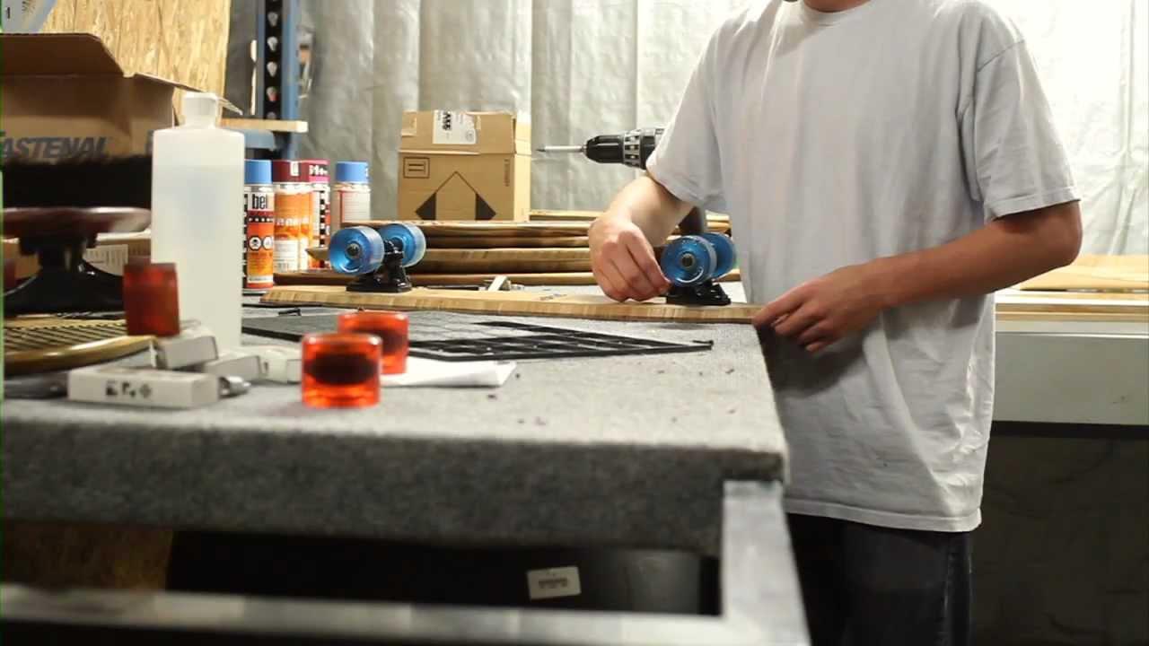 STRGHT's Handmade Skateboard Process