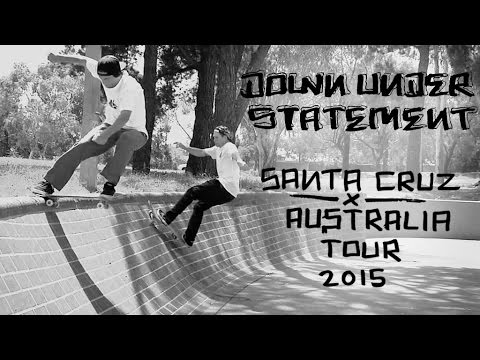 Santa Cruz Skateboards: Down Under Statement