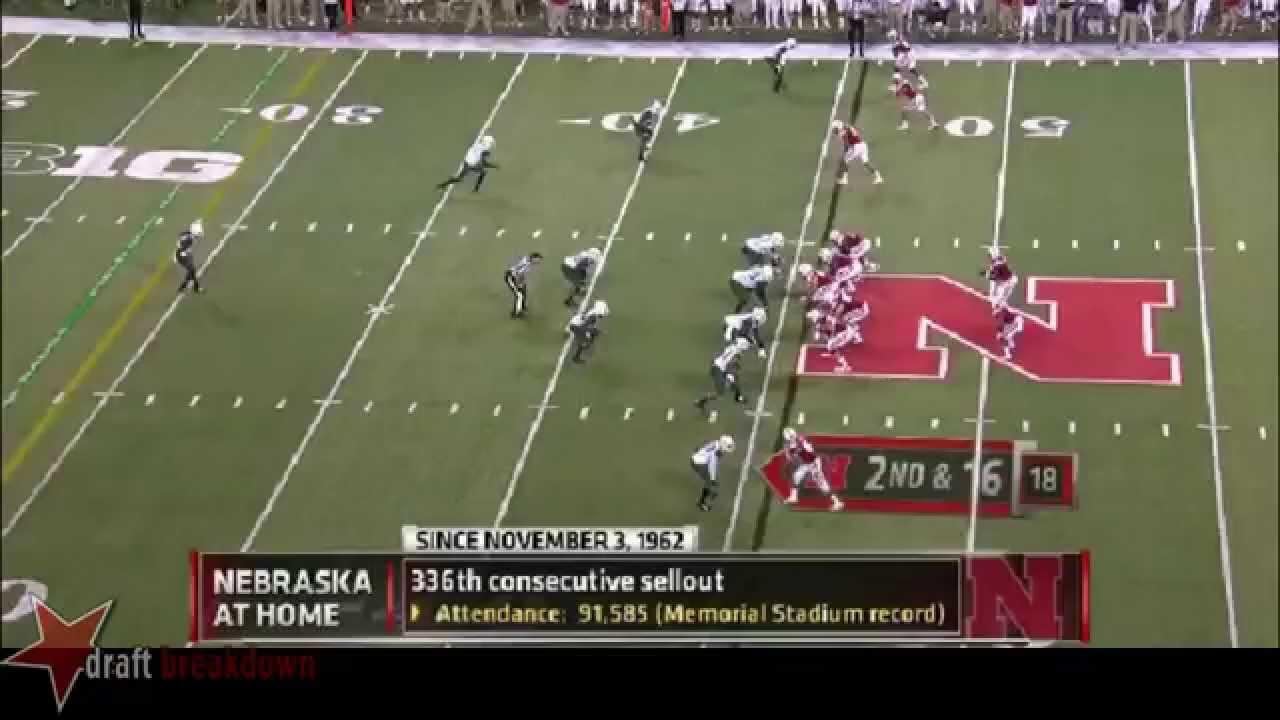 Denzel Perryman vs Nebraska (2014)