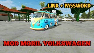 HOLIDAY DULU..... || MOD VOLKSWAGEN BUSSID by WSP MODS