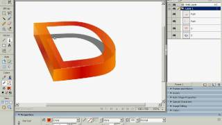 Macromedia Fireworks Tutorial 3D Text