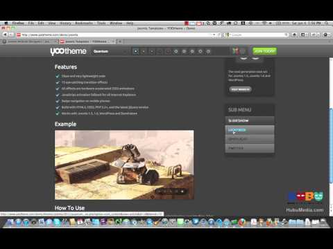 YooTheme Widgetkit for Joomla - HubuMedia Review