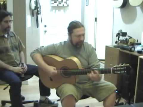 Flamenco-Lessons Webcast 4-24-09 Glenn Canin part 1