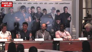 Sylvester Stallone talks Expendables Sequels 4 & 5 & The Expendabelles