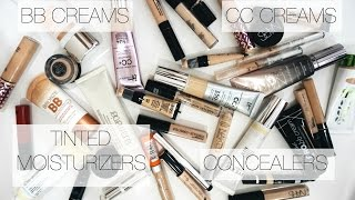 Make Up Collection + Storage   Concealers + BB Creams, Tinted Moisturizers,