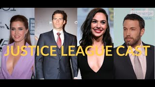 Justice League Cast | Real Age | 2019