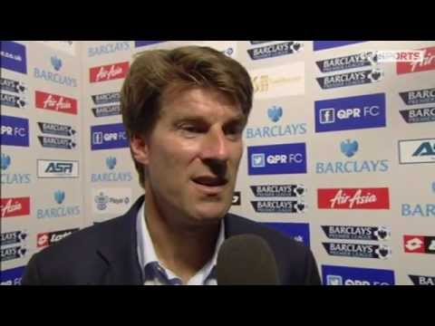 Michael Laudrup Post Match Interview first game Swansea win 5-0 at QPR
