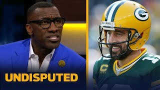 Aaron Rodgers is playing his way into the MVP discussion — Shannon Sharpe | NFL | UNDISPUTED
