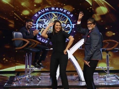 Action Jackson Promotions on KBC – Ajay Devgan-Sonakshi Sinha...