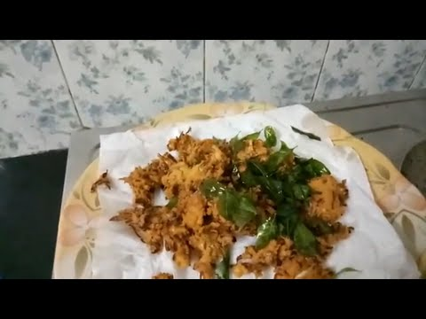 Cabbage pakoda (without onion and garlic)