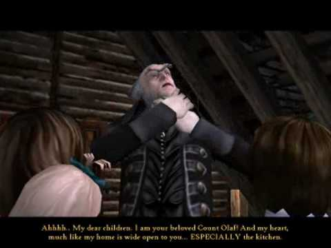 Lemony Snicket's A Series of Unfortunate Events PC Game Cutscene 3