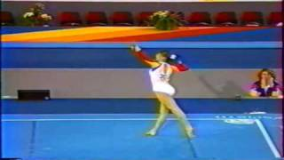 Daniela Silivas FX EF 1989 World Shampionships PERFECT 10