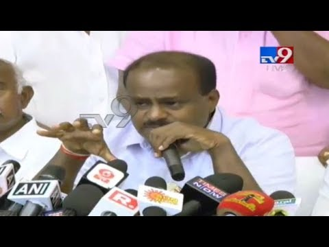 H.D.Kumaraswamy Press Meet LIVE