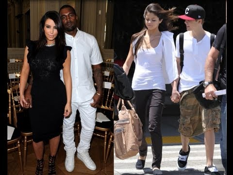 Top Couples Of 2012 - Justin Bieber And Selena Gomez, Kim Kardashian And Kanye West! video