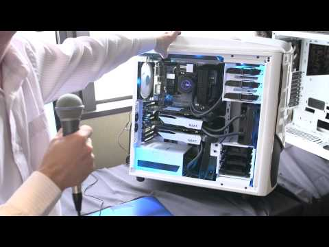 NZXT Phantom 530 & H230 & Asetek VGA Water Cooling Bracket - Computex 2013