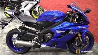 2017 Yamaha R6 - Walkaround - Debut at 2016 AIMExpo Orlando