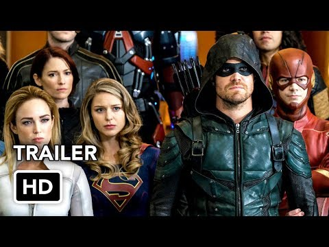 DCTV Crisis on Earth-X Crossover Full Trailer - The Flash, Arrow, Supergirl, DC's Legends (HD) thumbnail