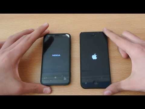 Nokia Lumia 620 vs iPhone 5 - Which is Faster?