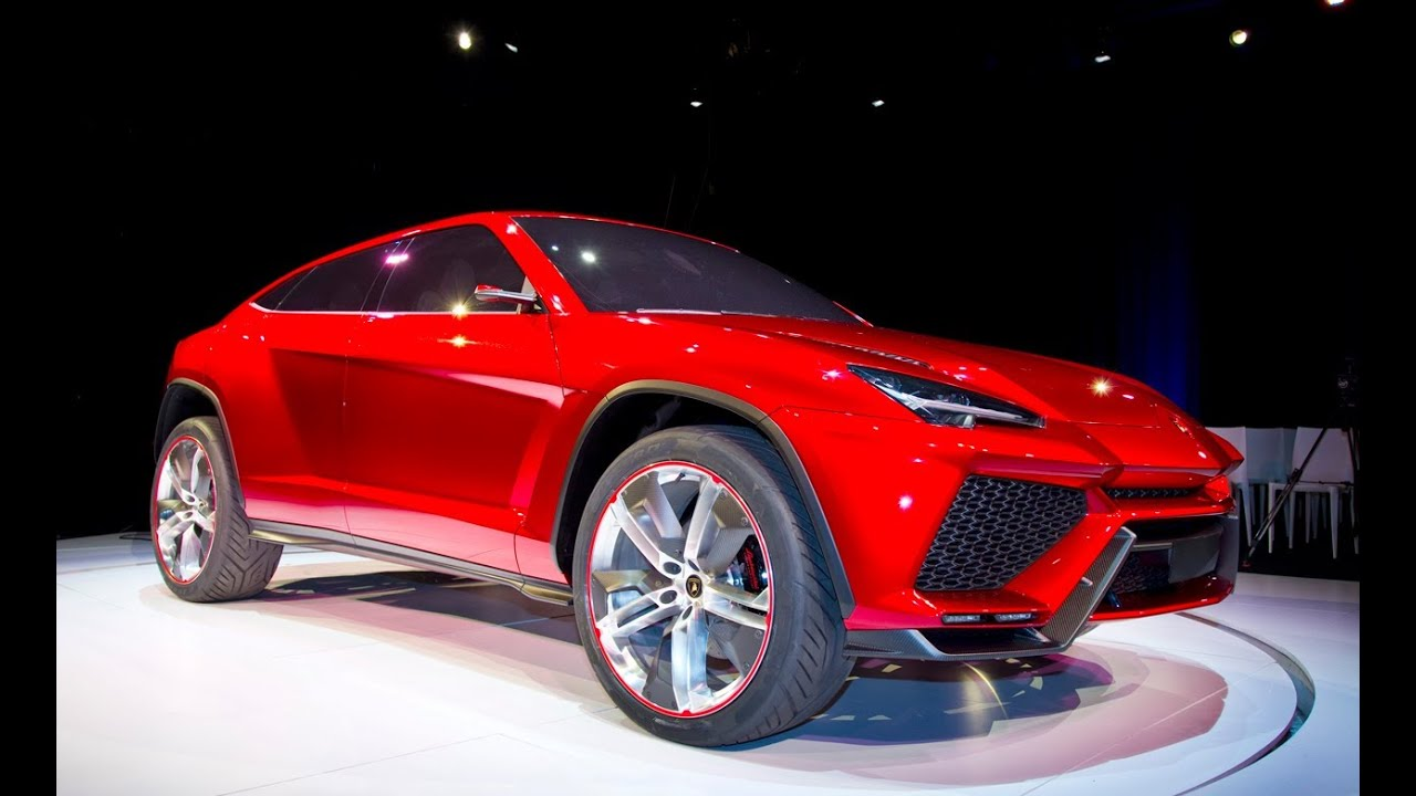 Lamborghini Urus Concept Lambo Suv Revealed Youtube