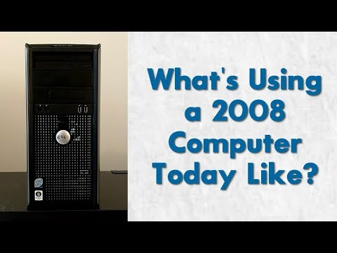 What's Using a 2008 Computer Today Like? | Dell Optiplex 755 Overview!
