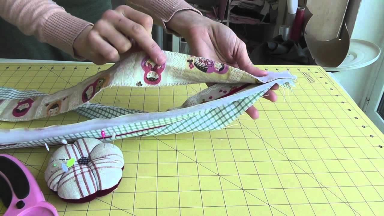 Nairamkitty diy tutorial como hacer y coser una funda de port til o tablet patrones gratis - Como coser cortinas paso a paso ...