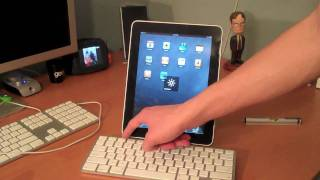 Unboxing: iPad Keyboard Dock