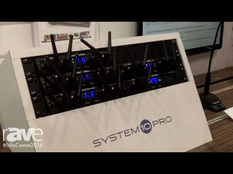 InfoComm 2016: Audio-Technica Shows System 10 PRO High-Fidelity Wireless Systems