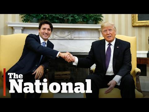 The Trump handshake