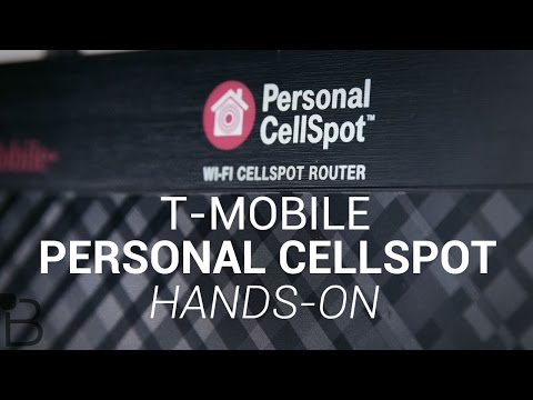 T-Mobile Personal CellSpot Hands-On